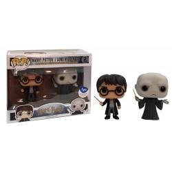 Harry Potter - Harry & Voldemort US Exclusive Pop! Vinyl Figure 2-Pack