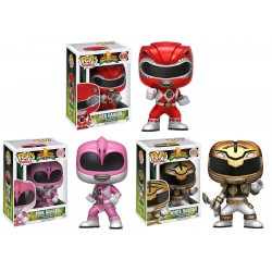 Power Rangers Action Pose Funko Pop! Bundle (Pack of 3)