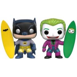 DC Comics - Batman & Joker Surf's Up! US Exclusive Pop! Vinyl Figure 2-Pack