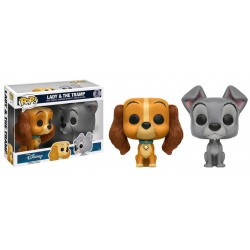 Lady and the Tramp - Lady & Tramp US Exclusive Pop! Vinyl 2-Pack