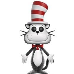 Dr Seuss - Cat in the Hat Flocked US Exclusive Pop! Vinyl