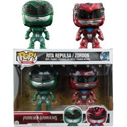 Power Rangers Movie - Rita Reulsa / Zordon US Exclusive Pop! Vinyl 2-Pack