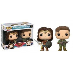 Wonder Woman Movie - Wonder Woman & Steve Trevor US Exclusive Pop! Vinyl 2-pack