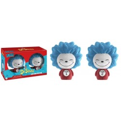 Dr Seuss - Thing 1 & Thing 2 Flocked US Exclusive Dorbz 2-Pack