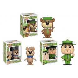 *MINOR DAMAGE TO BOXES* Funko-Shop Yogi Bear 3-Pack Pop Bundle
