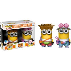 Despicable Me 3 - Tourist Dave & Tourist Jerry US Exclusive Pop! Vinyl 2-Pack