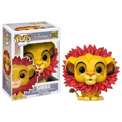 The Lion King - Simba (Leaf Mane) Pop! Vinyl