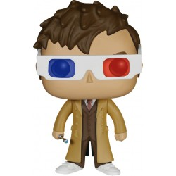 Doctor Who - Tenth Doctor 3D Glasses US Exclusive Pop! Vinyl Figure