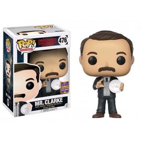 Stranger Things - Mr Clarke SDCC 2017 US Exclusive Pop! Vinyl