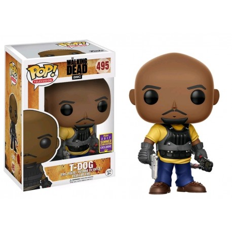 The Walking Dead - T-Dog SDCC 2017 US Exclusive Pop! Vinyl