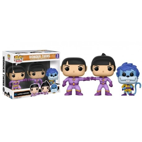 Super Friends - Wonder Twins SDCC 2017 US Exclusive Pop! Vinyl 3-Pack