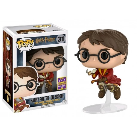Harry Potter - Harry Potter on Broom SDCC 2017 US Exclusive Pop! Vinyl