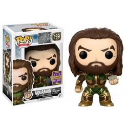 Justice League Movie - Aquaman and Mother Box SDCC 2017 US Exclusive Pop! Vinyl