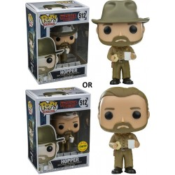 Stranger Things - Hopper (w Chase) Pop! Vinyl