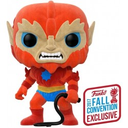 Masters of the Universe - Beast Man Flocked NYCC 2017 US Exclusive Pop! Vinyl