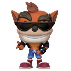 Crash Bandicoot - Crash Bandicoot Biker Outfit US Exclusive Pop! Vinyl