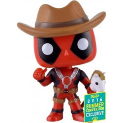 Deadpool - Cowboy Deadpool SDCC 2016 Exclusive Pop! Vinyl Figure