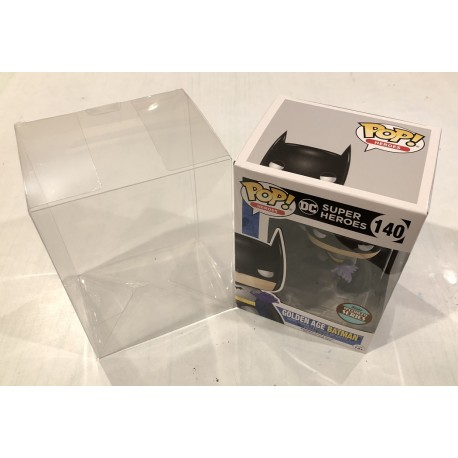 """Pop Protector - 4"""" Clear 0.35mm Acid-Free"""