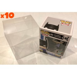 "10 x Pop Protector - 4"" Clear 0.35mm Acid-Free"