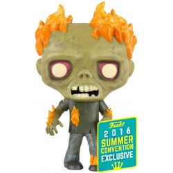 The Walking Dead - Burning Walker SDCC 2016 Exclusive Pop! Vinyl Figure