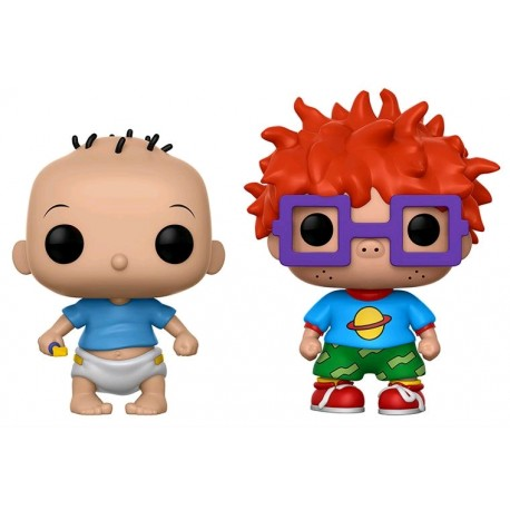 Rugrats - Tommy & Chuckie US Exclusive Pop! Vinyl 2-Pack