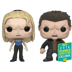 Buffy the Vampire Slayer - Vampire Buffy & Angel SDCC 2016 Exclusive Pop! Vinyl Figure 2-Pack