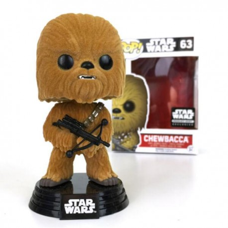 Star Wars Chewbacca Flocked (Smugglers Bounty Exclusive) Funko Pop!