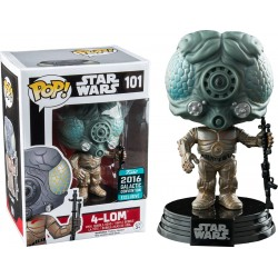 Star Wars - 4-LOM STICKERED Galactic Convention Exclusive 2016 Pop! Vinyl Figure