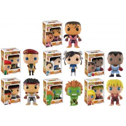 Street Fighter Funko Pop! Bundle (Pack of 8)