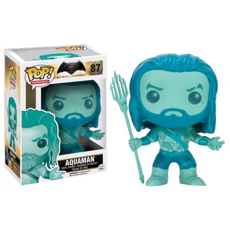 Batman v Superman: Dawn of Justice - Aquaman Blue US Exclusive Pop! Vinyl