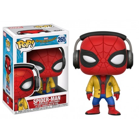 Spider-Man: Homecoming - Spider-Man with Headphones Pop! Vinyl
