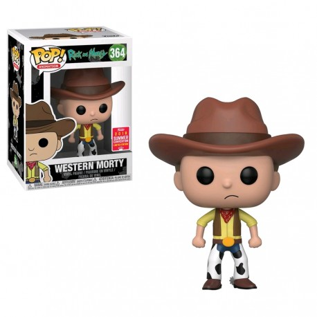 Rick and Morty - Western Morty SDCC 2018 US Exclusive Pop! Vinyl