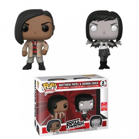 Scott Pilgrim - Matthew & Demon Chick SDCC 2018 US Exclusive Pop! Vinyl 2-pack