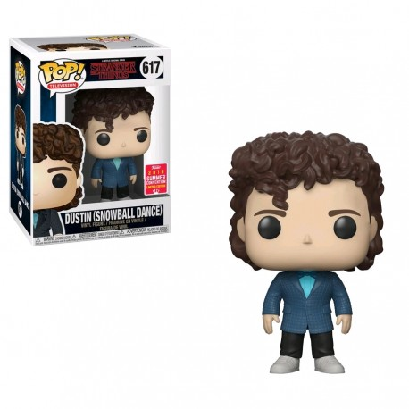 Stranger Things - Dustin Snowball Dance SDCC 2018 US Exclusive Pop! Vinyl