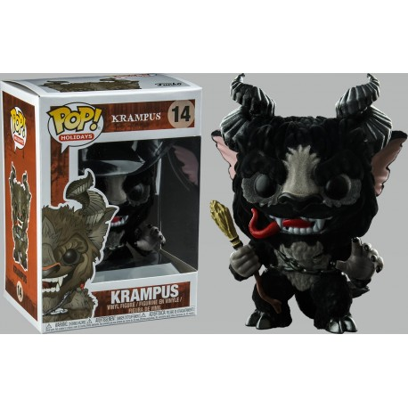 Krampus Flocked (with Chase) Pop! Vinyl