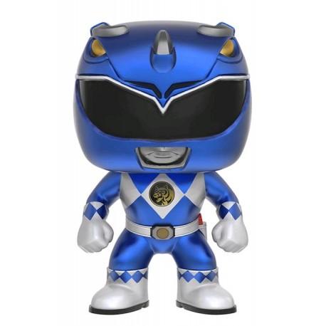 Power Rangers - Blue Ranger Metallic US Exclusive Pop! Vinyl