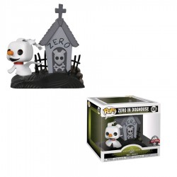 The Nightmare Before Christmas - Zero in doghouse (with chase) Movie Moment Pop! Vinyl