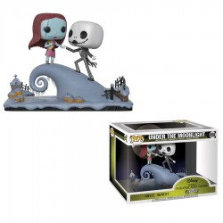 The Nightmare Before Christmas - Jack and Sally on the Hill Movie Moment Pop! Vinyl