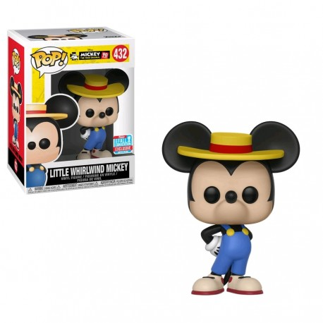 Mickey Mouse - 90th Anniversary Little Whirlwind Mickey NYCC 2018 Exclusive Pop! Vinyl