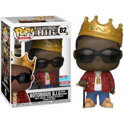 Notorious B.I.G. with Crown NYCC 2018 Exclusive Pop! Vinyl