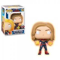 Captain Marvel Glow Hands US Exclusive Pop! Vinyl