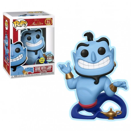 Aladdin - Genie with Lamp Glow Specialty Series Exclusive Pop! Vinyl