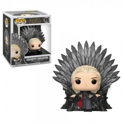 Game of Thrones - Daenerys on Iron Throne Pop! Deluxe
