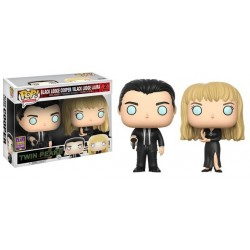 Twin Peaks - Black Lodge Cooper & Laura SDCC 2017 US Exclusive Pop! Vinyl 2-Pack