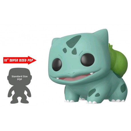 "Pokemon - Bulbasaur US Exclusive 10"" Pop! Vinyl"