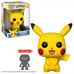 "Pokemon - Pikachu US Exclusive 10"" Pop! Vinyl"
