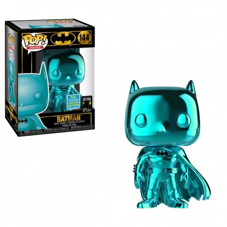 Batman Teal Chrome Pop! SDCC 2019