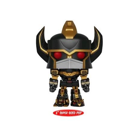 "Power Rangers - Megazord Black and Gold 6"" US Exclusive Pop! Vinyl"
