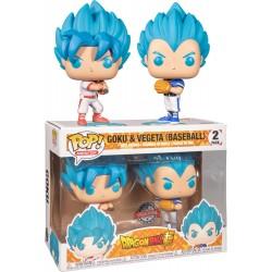 Dragon Ball Super - Goku & Vegeta Baseball US Exclusive Pop! Vinyl 2-Pack