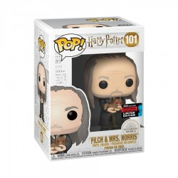 Harry Potter - Filch & Mrs Norris Yule NYCC 2019 US Exclusive Pop! Vinyl
